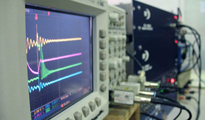 MTECH Labs Hardware, scope waveform