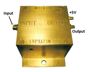 CryoCircuits LNPA Series Low-Noise MRI RF PreAmp - Connections